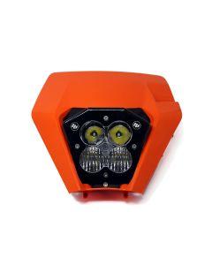 Baja Designs XL Pro (AC) KTM LED Headlight Kit with Shell (2017-2019)